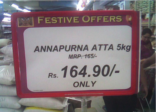 The great Indian Shopping Festival